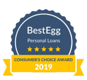 Best Company Consumer's Choice Personal Loans Best Egg Award